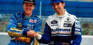 Damon Hill y Michael Schumacher en Jerez - SoyMotor.com