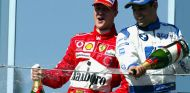 Michael Schumacher y Juan Pablo Montoya - LaF1