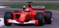 Michael Schumacher, con el F2001 en San Marino - SoyMotor.com