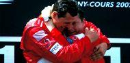 Michael Schumacher y Jean Todt en Magny-Cours - SoyMotor.com