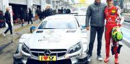 Mick Schumacher y Gerhard Berger - SoyMotor.com