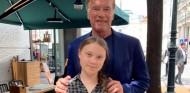 Arnold Schwarzenegger y Greta Thunberg en Viena - SoyMotor.com