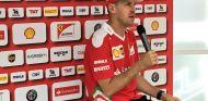 Sebastian Vettel habla con la prensa en Austria - LaF1