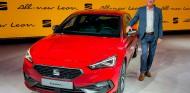 Carsten Isensee con el Seat León 2020 - SoyMotor.com