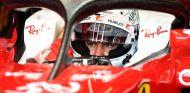 Sebastian Vettel con la segunda versión del 'halo' - LaF1