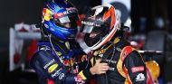 Sebastian Vettel y Kimi Räikkönen en el GP de Australia F1 2013 - LaF1