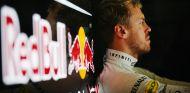 Sebastian Vettel en el box de Suzuka - LaF1