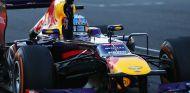 Sebastian Vettel celebra su victoria en Suzuka .-LaF1