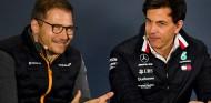 Mercedes, sin resentimientos hacia McLaren por apelar la decisión sobre Racing Point - SoyMotor.com
