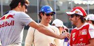 Mark Webber, Bruno Senna y Fernando Alonso - SoyMotor.com