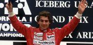 Senna durante el GP de Estados Unidos 1991 - SoyMotor.com