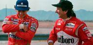 Ayrton Senna y Emerson Fittipaldi en Arizona - SoyMotor.com