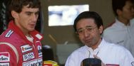 Ayrton Senna y Osamu Goto en Mónaco - SoyMotor.com