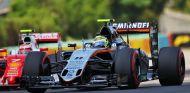 Pérez no llega a la Q3 en el GP de Hungría - LaF1