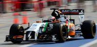 Sergio Pérez encantado con el avance de Force India