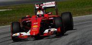 Vettel rodando con el SF15-T en Malasia - LaF1.es