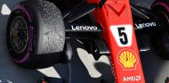 Neumáticos delanteros del SF71H de Sebastian Vettel en Hungaroring - SoyMotor.com