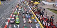 Imagen de archivo con los competidores de la Shell Eco-marathon © Shell – SoyMotor.com