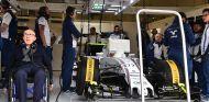 Sir Frank Williams durante el GP de Austria 2015 - SoyMotor.com
