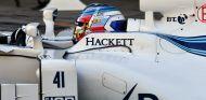 Sirotkin durante el test con Williams en Abu Dabi - SoyMotor.com