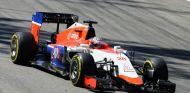 Stevens partió decimotercero y pudo divertirse con el resto de coches en las primeras vueltas - LaF1