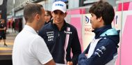Esteban Ocon y Lance Stroll en Monza - SoyMotor