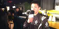 Sun Yue Yang en su presentación con el equipo - LaF1