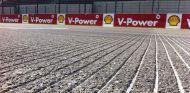 Surcos en la recta de meta del circuito de Spa - LaF1