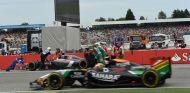Hamilton critica la ausencia del Safety Car en el incidente de Sutil