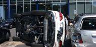 Así quedó el Mercedes GLE tras la prueba de esta clienta poco habilidosa - SoyMotor