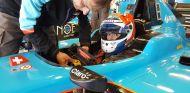 Tatiana Calderón en la pretemporada de GP3 - SoyMotor.com