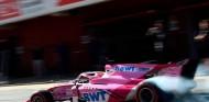Tatiana Calderón en los test de Fórmula 2