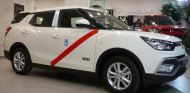 El SsangYong XLV G16 GLP ya luce los colores característicos de los taxis de la capital - SoyMotor