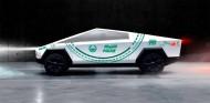 El Tesla Cybertruck de la policía de Dubái - SoyMotor.com