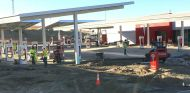 Estación supercargadores de Tesla - SoyMotor.com
