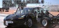 Tesla Model 3: se someta a los crash test de la NHSTA - SoyMotor.com