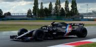 El test con los Pirelli de mojado de 2022, lastrado por una avería del Alpine - SoyMotor.com
