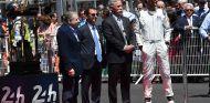 Jean Todt, Pierre Fillon, Chase Carey y Mark Webber en Le Mans - SoyMotor.com