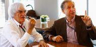 Jean Todt y Bernie Ecclestone - LaF1.es