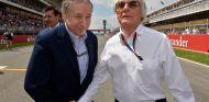Jean Todt y Bernie Ecclestone - LaF1