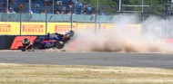 Accidente de Brendon Hartley en Silverstone - SoyMotor