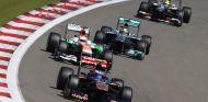 Toro Rosso en el GP de Alemania F1 2013: Domingo