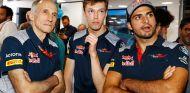 Franz Tost, Daniil Kvyat, Carlos Sainz - SoyMotor