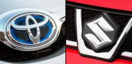 Logos de Toyota (izq.) y Suzuki (der.) - SoyMotor