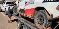 Una zanja no señalizada condena a Alonso en la Etapa 3 de Marruecos - SoyMotor.com