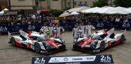 Los dos prototipos de Toyota para Le Mans 2016 - LaF1
