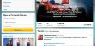 Captura de pantalla del perfil de Twitter de Fernando Alonso - LaF1