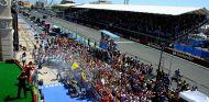 Fernando Alonso, Kimi Räikkönen y Michael Schumacher en Valencia - SoyMotor.com