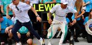 Valtteri Bottas y Lewis Hamilton en Hungaroring - SoyMotor.com