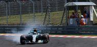 Valtteri Bottas bloquea frenos en el pasado GP de Hungría - SoyMotor